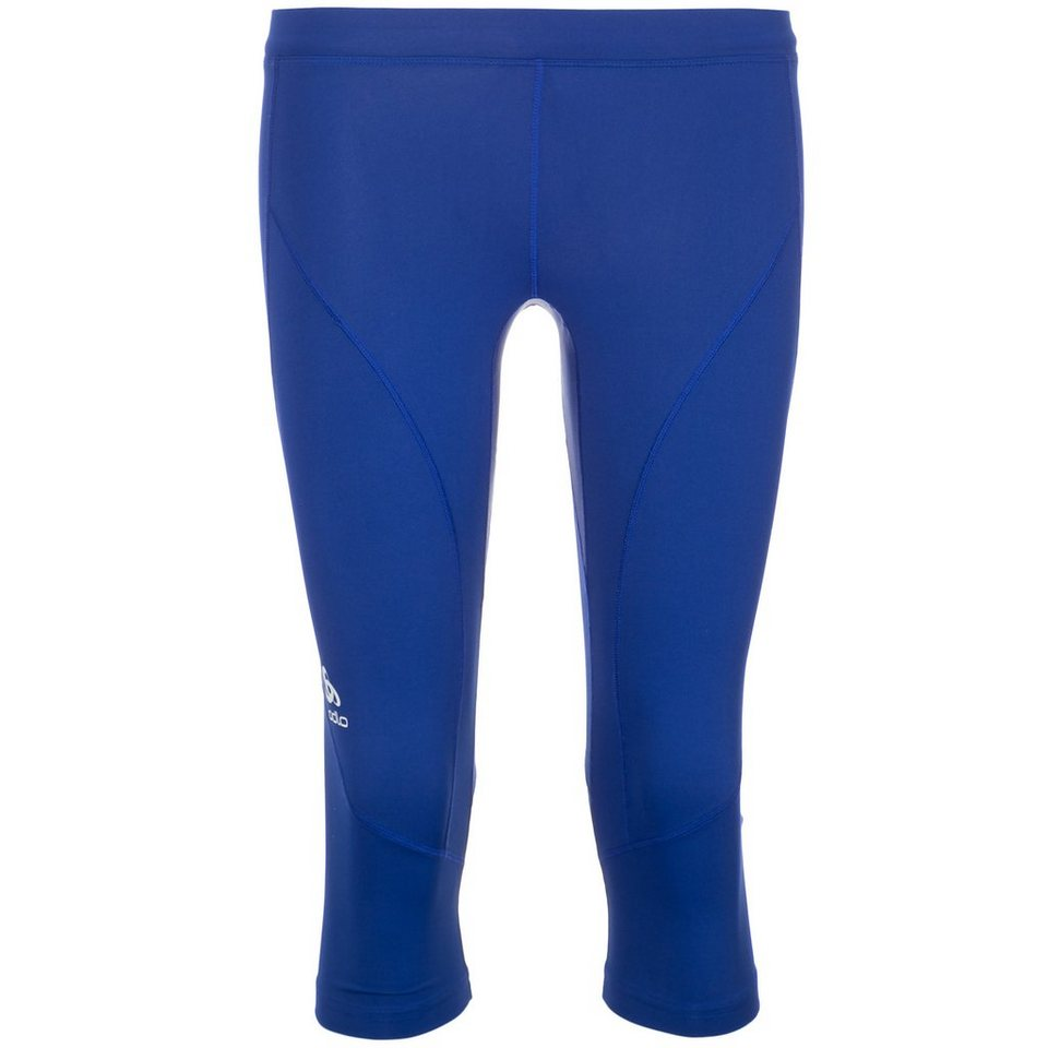 ODLO Fury Capri Lauftight Damen in blau