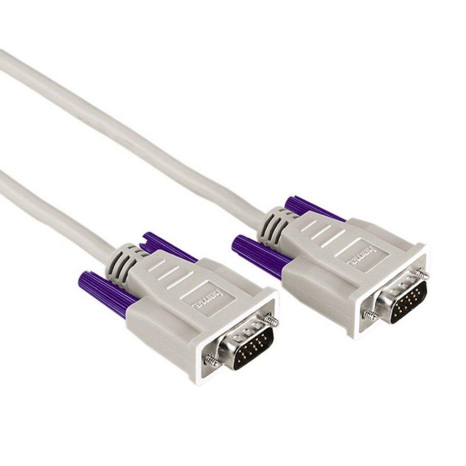 Exxter VGA-Kabel, geschirmt, 5,0 m in Grau