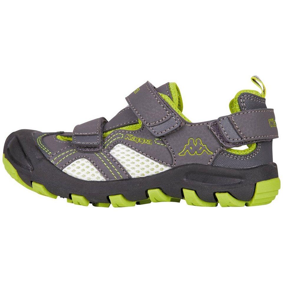 KAPPA Sneaker »REMEMBER KIDS« in grey/lime