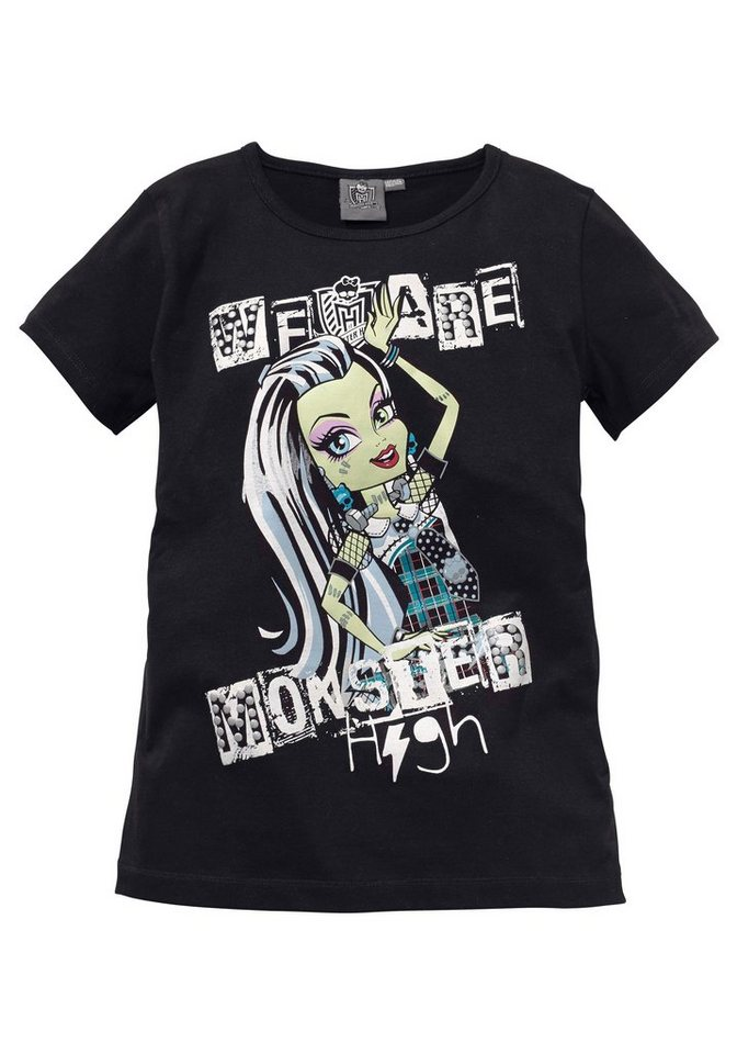 Monster High T-Shirt in schwarz