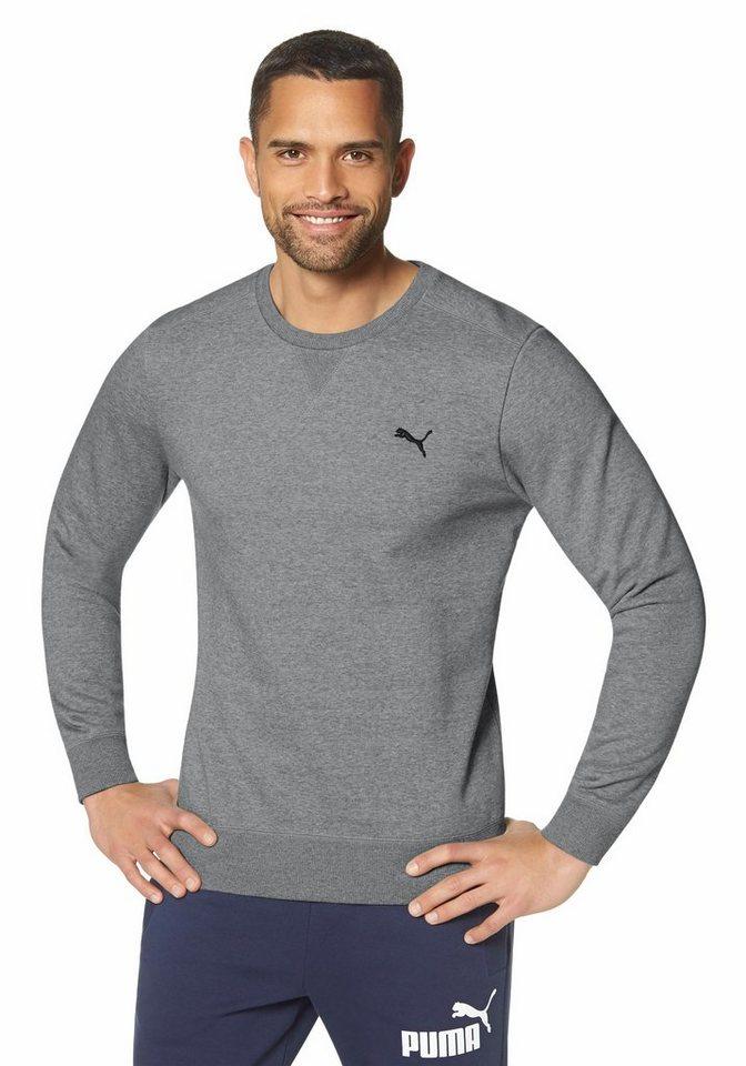 PUMA Sweatshirt in Grau-Meliert