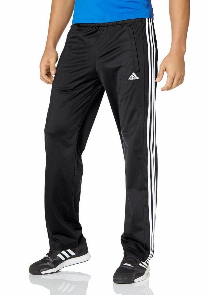 adidas Performance Funktions-Trainingshose in Schwarz-Weiß
