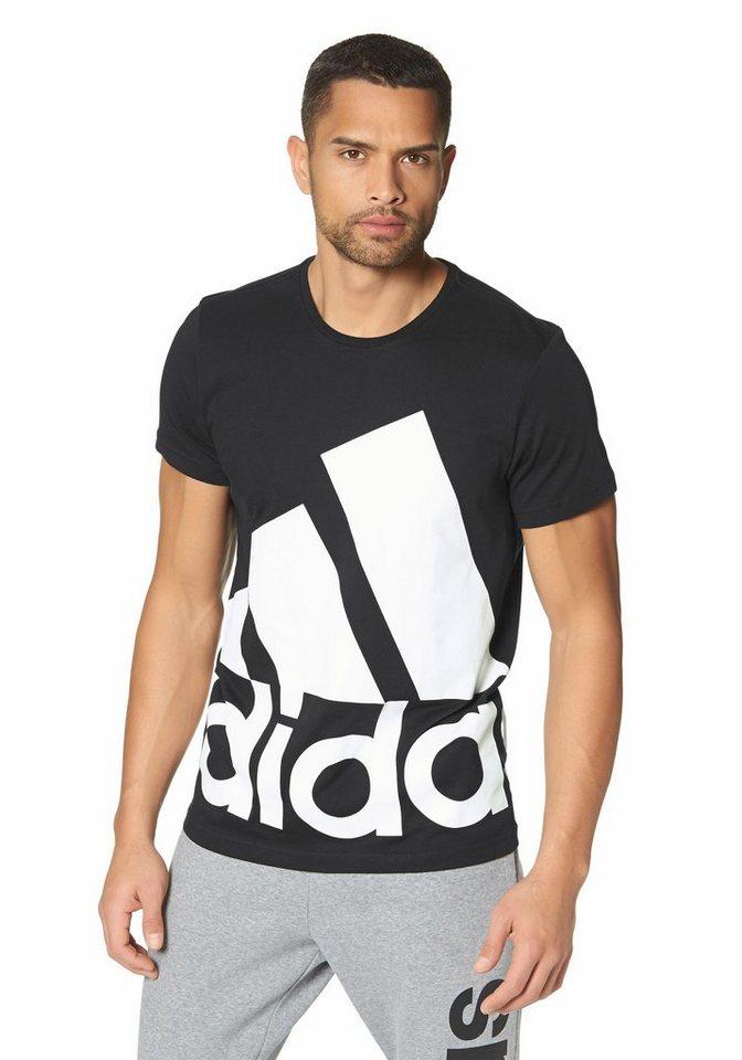 adidas Performance LOGO TEE BIG T-Shirt in Schwarz