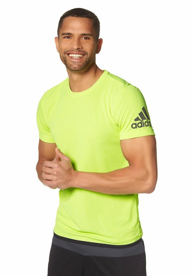 adidas Performance Funktions-T-Shirt in Gelb