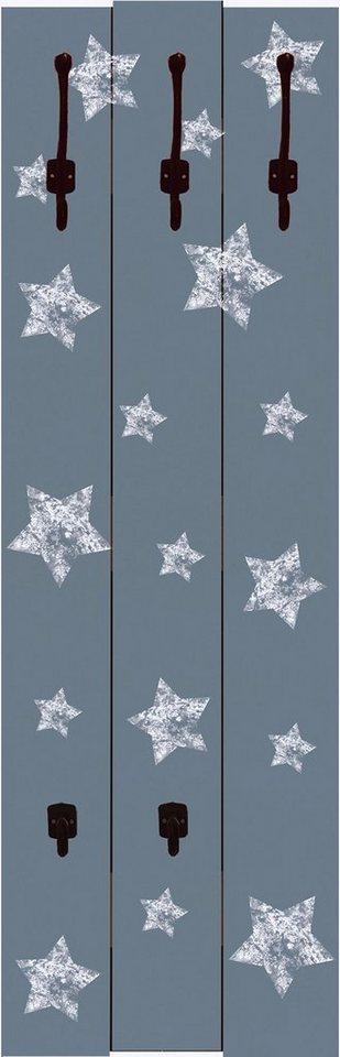 Home affaire, Garderobe »Jule: Sterne auf grau«, 45/140 cm in Grau