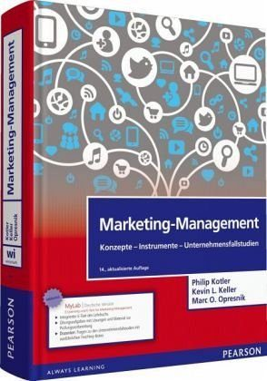 Gebundenes Buch »Marketing-Management«