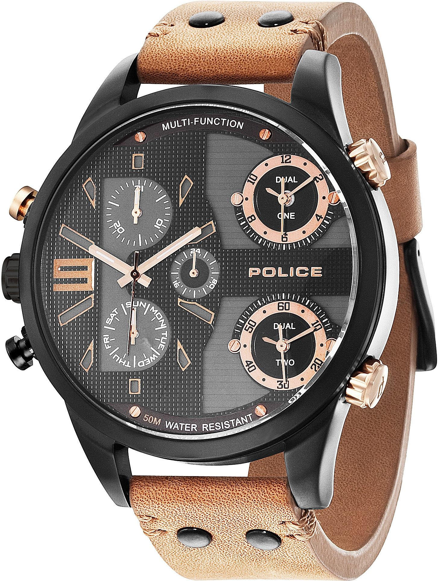 Police Multifunktionsuhr »COPPERHEAD, P14374JSB-02«