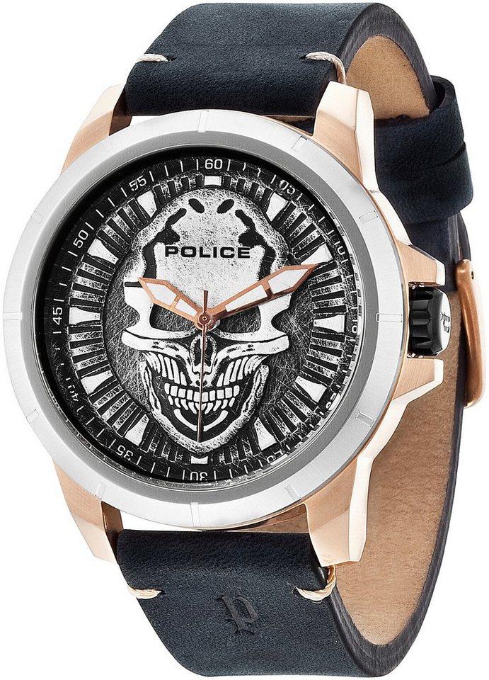 "Police, Armbanduhr, ""REAPER, P14385JSRS-57"" in schwarz"
