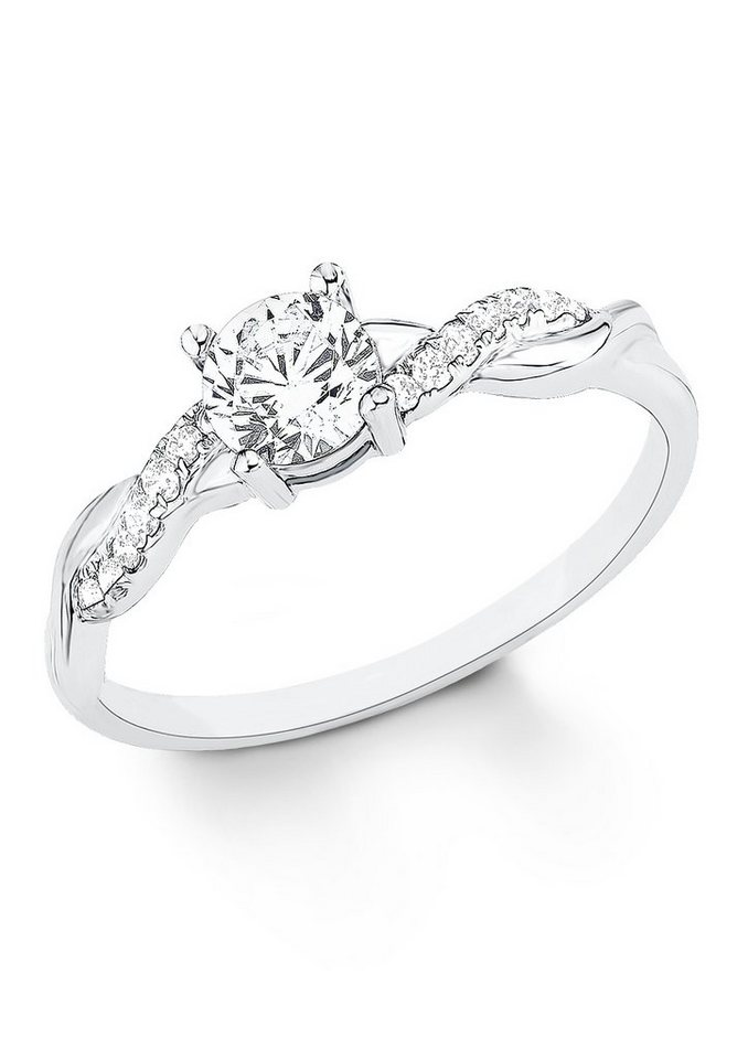 Ring, »9079322«, s.Oliver in Silber 925