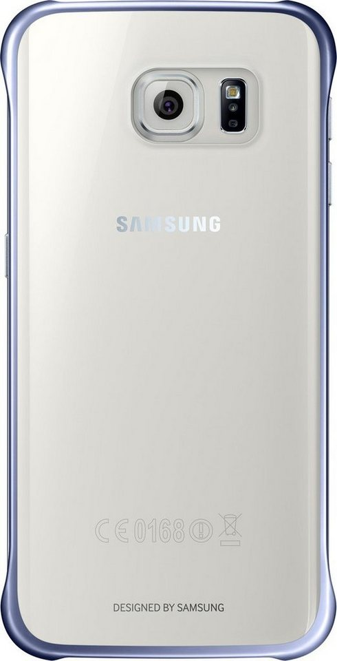 Samsung Handytasche »Clear Cover EF-QG925 für Galaxy S6 Edge, Schwarz« in Transparent