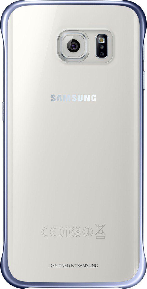 Samsung Handytasche »Clear Cover EF-QG925 für Galaxy S6 Edge, Schwarz«