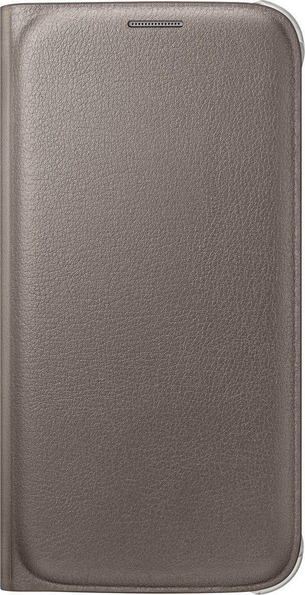 Samsung Handytasche »Flip Wallet PU EF-WG920 für Galaxy S6, Gold«