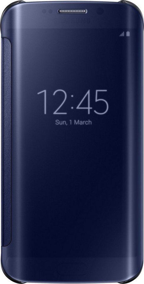 Samsung Handytasche »Clear View Cover EF-ZG925 für S6 Edge, Schwarz« in Schwarz