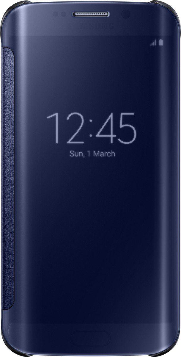 Samsung Handytasche »Clear View Cover EF-ZG925 für S6 Edge, Schwarz«