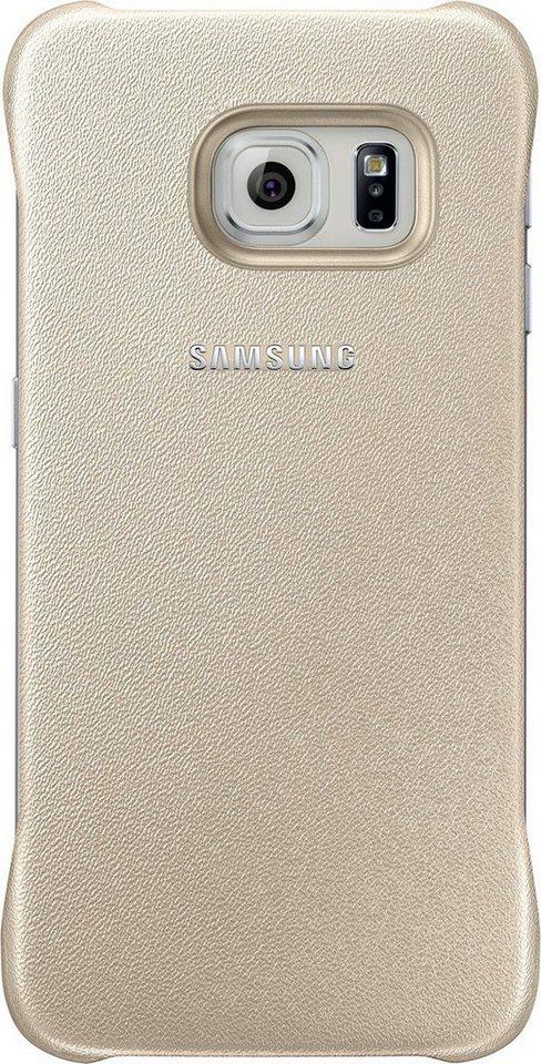 Samsung Handytasche »Protective Cover EF-YG925 für S6 Edge, Gold« in Gold