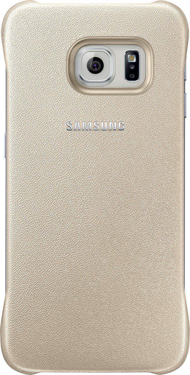 Samsung Handytasche »Protective Cover EF-YG925 für S6 Edge, Gold«