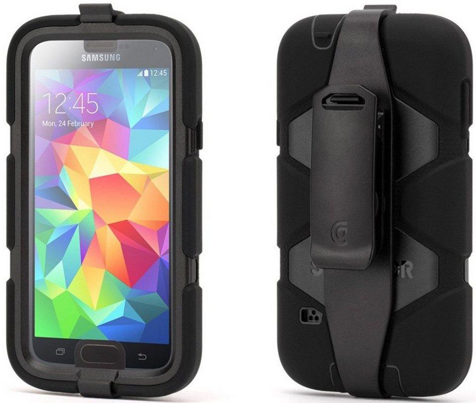 Griffin Handytasche »Rugged Case Survivor für Galaxy S5, Schwarz« in Schwarz