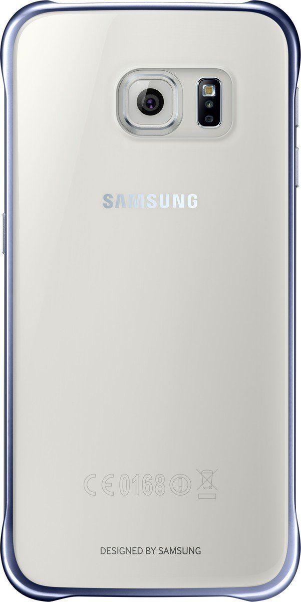 Samsung Handytasche »Clear Cover EF-QG920 für Galaxy S6, Schwarz«