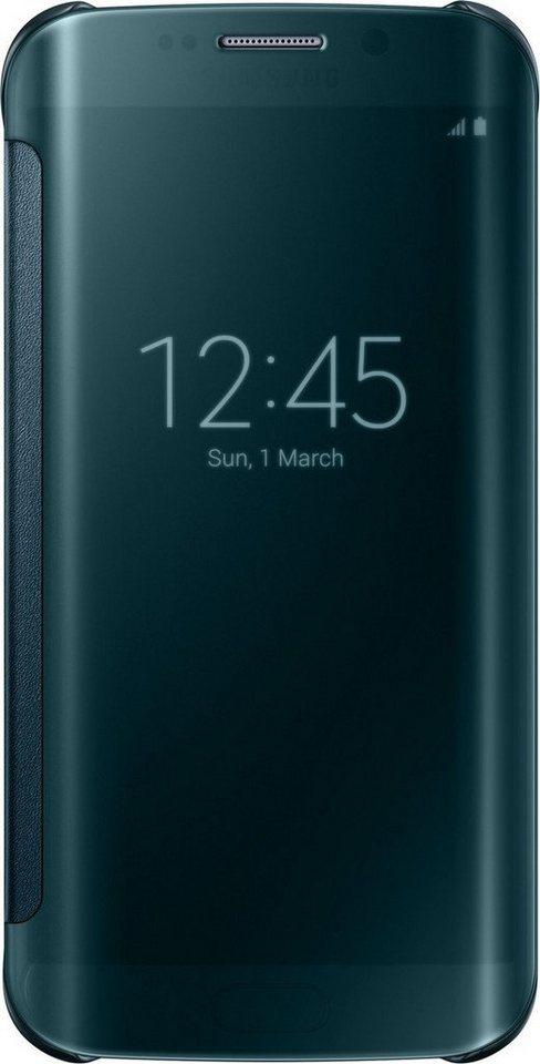 Samsung Handytasche »Clear View Cover EF-ZG925 für Galaxy S6 Edge, Grün« in Grün
