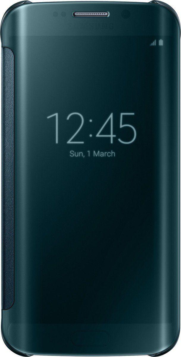 Samsung Handytasche »Clear View Cover EF-ZG925 für Galaxy S6 Edge, Grün«