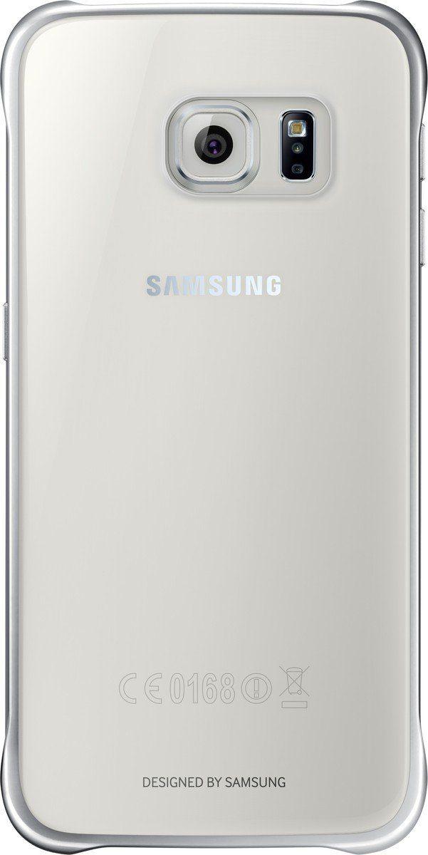 Samsung Handytasche »Clear Cover EF-QG920 für Galaxy S6, Silber«