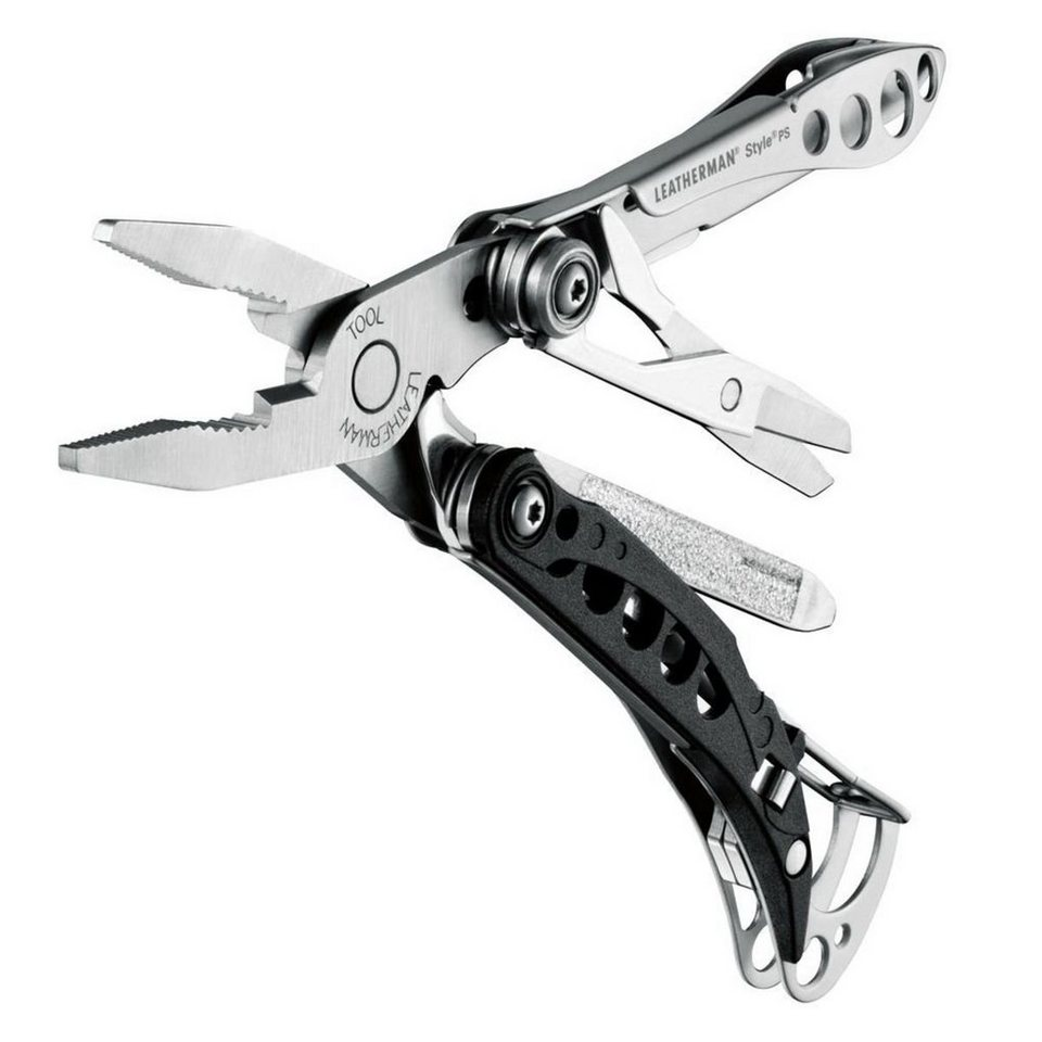 Leatherman Multitool »STYLE PS (Multitool)« in Silber/Schwarz