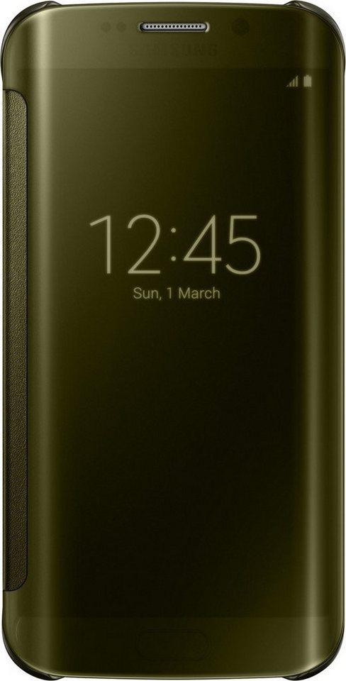 Samsung Handytasche »Clear View Cover EF-ZG925 für Galaxy S6 Edge, Gold« in Gold