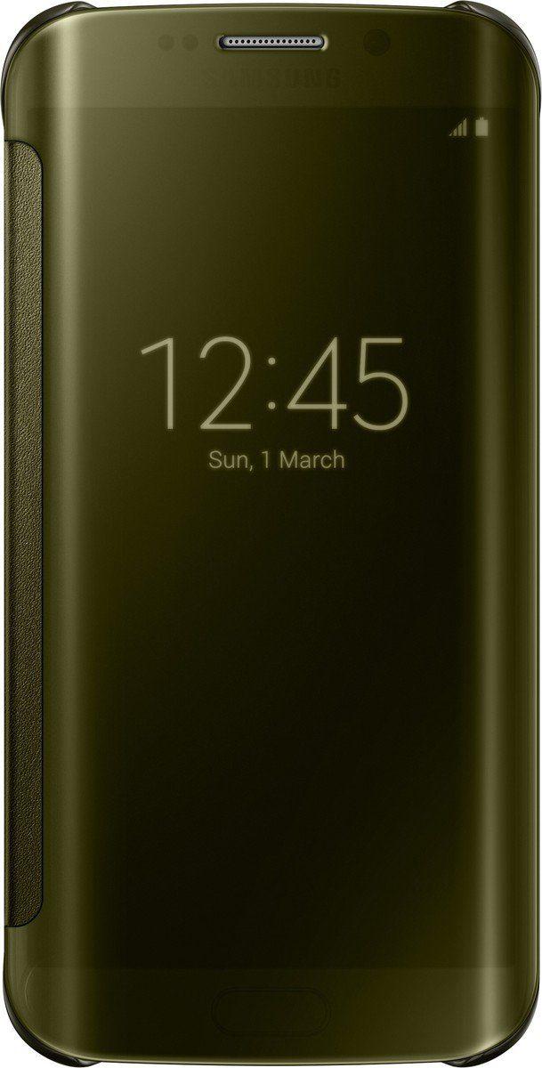 Samsung Handytasche »Clear View Cover EF-ZG925 für Galaxy S6 Edge, Gold«
