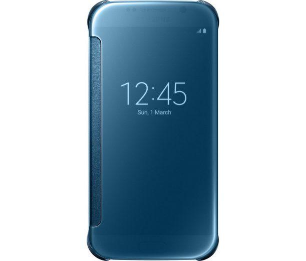 Samsung Handytasche »Clear View Cover EF-ZG920 für Galaxy S6, Blau«
