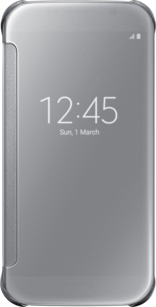 Samsung Handytasche »Clear View Cover EF-ZG920 für Galaxy S6, Silber«
