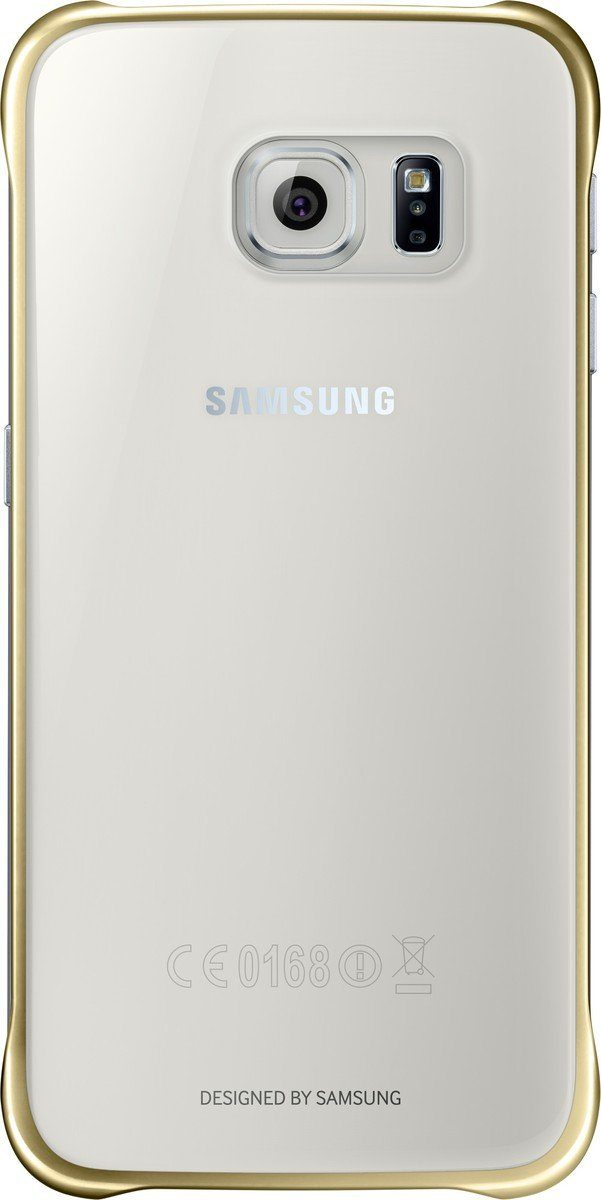 Samsung Handytasche »Clear Cover EF-QG920 für Galaxy S6, Gold«