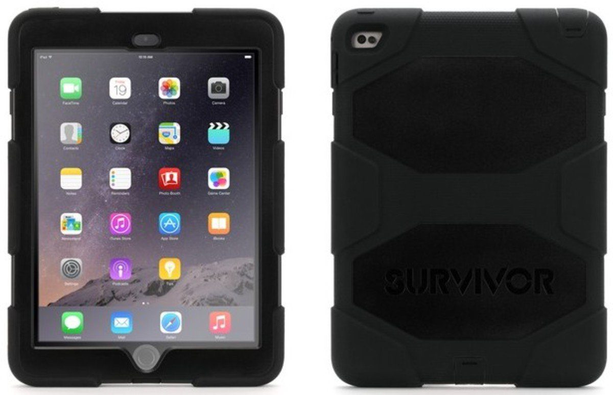 Griffin Tablettasche »Rugged Case Survivor für iPad Air 2/ Pro 9.7«