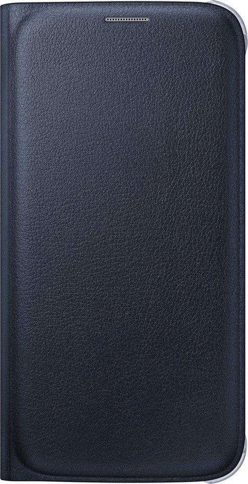 Samsung Handytasche »Flip Wallet PU EF-WG920 für Galaxy S6, Schwarz« in Schwarz