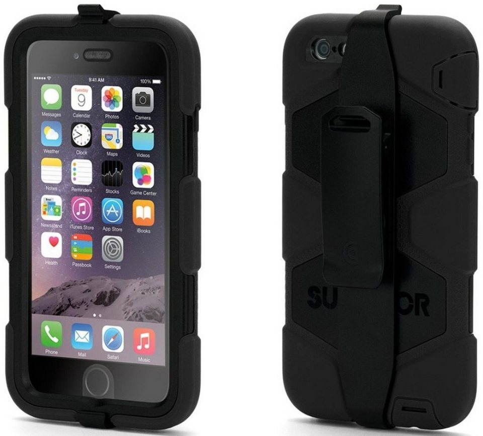 griffin handytasche rugged case survivor f r iphone 6. Black Bedroom Furniture Sets. Home Design Ideas