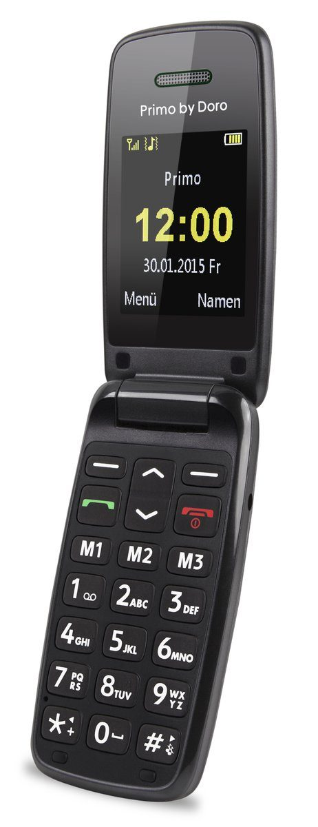 Doro Handy »Primo 401 by Doro (Schwarz)«
