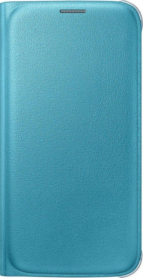 Samsung Handytasche »Flip Wallet PU EF-WG920 für Galaxy S6, Blau« in Blau
