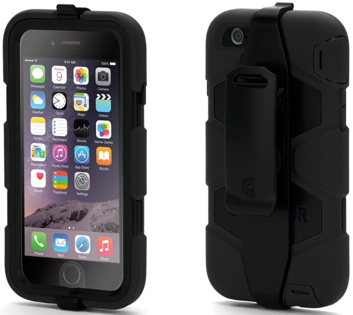 Griffin Handytasche »Rugged Case Survivor für iPhone 6«