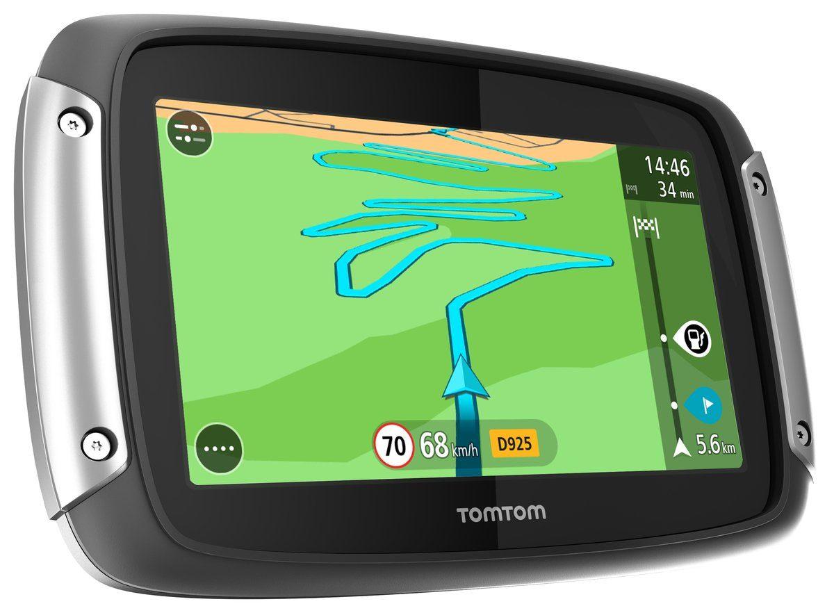 TomTom Navigationsgerät »RIDER 400 Europe Premium Pack«
