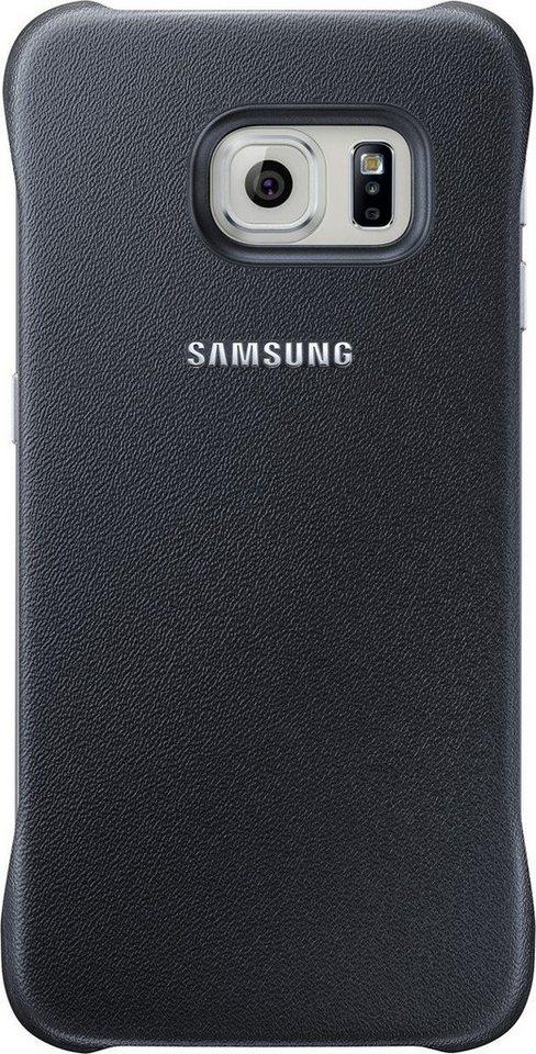 Samsung Handytasche »Protective Cover EF-YG925 für S6 Edge, Schwarz« in Schwarz