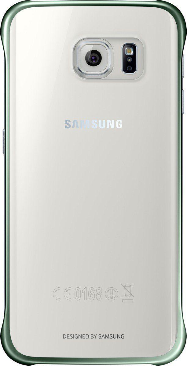 Samsung Handytasche »Clear Cover EF-QG925 für Galaxy S6 Edge, Grün«