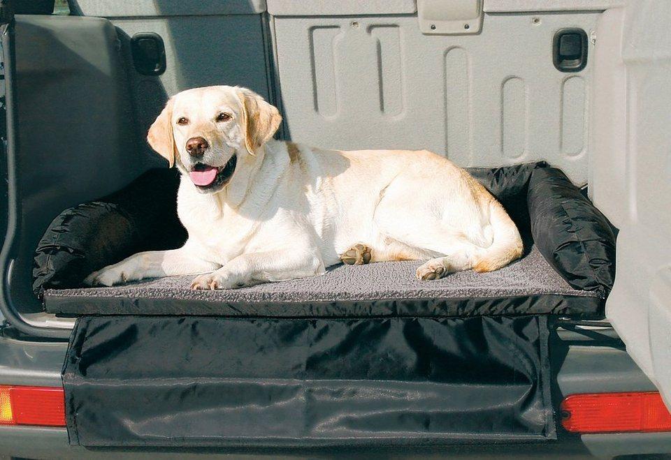 Hunde-Bett »Auto-Bett« in schwarz/grau