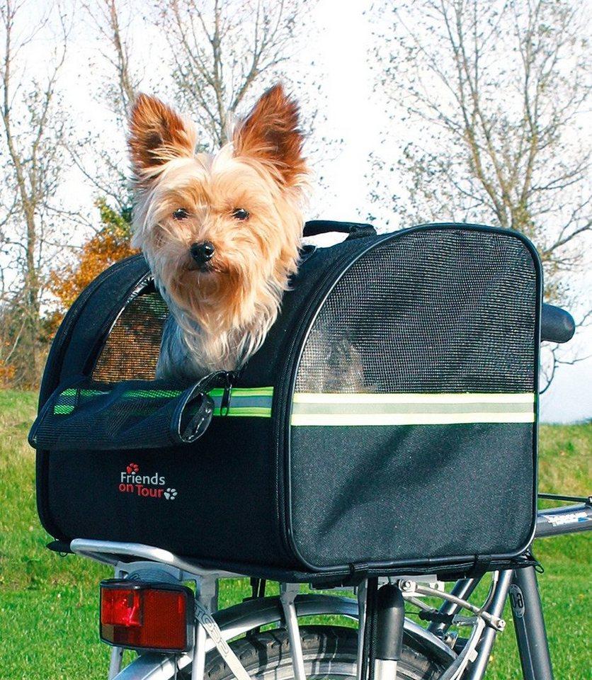 Hunde-Fahrradanhänger »Biker Bag « in schwarz