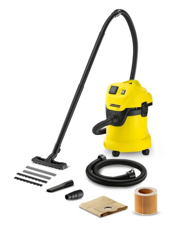 Nass-/Trockensauger »WD 3 Premium Extension Kit« in gelb