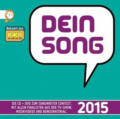 CD+DVD »Various: Dein Song 2015 (CD und DVD)«