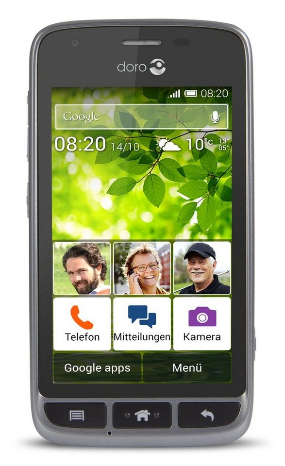 Doro Smartphone »Liberto 820 mini (schwarz)« in Schwarz