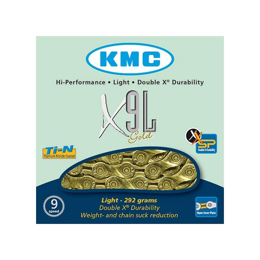 KMC Ketten »X-9 SL Kette gold«