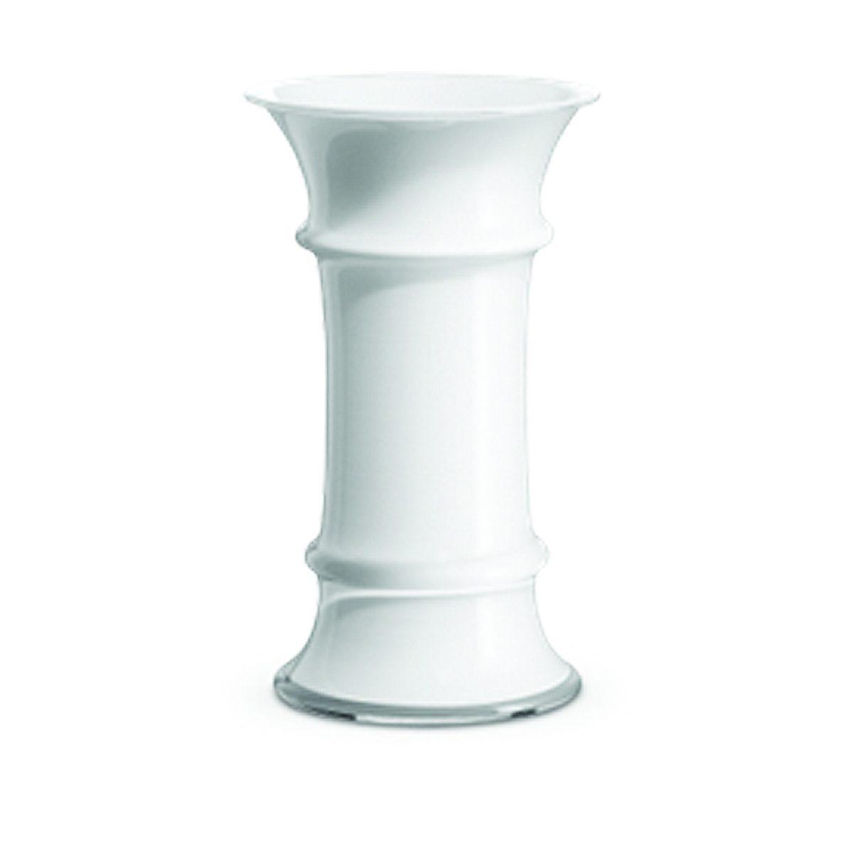 HOLMEGAARD Holmegaard Vase MB weiß, 17.6 cm