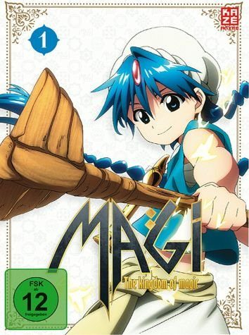 DVD »Magi: The Kingdom of Magic Staffel 2, Box 1 (2...«