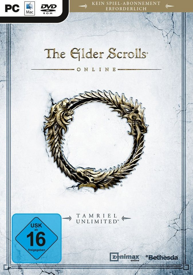 Bethesda PC - Spiel »The Elder Scrolls Online: Tamriel Unlimited«