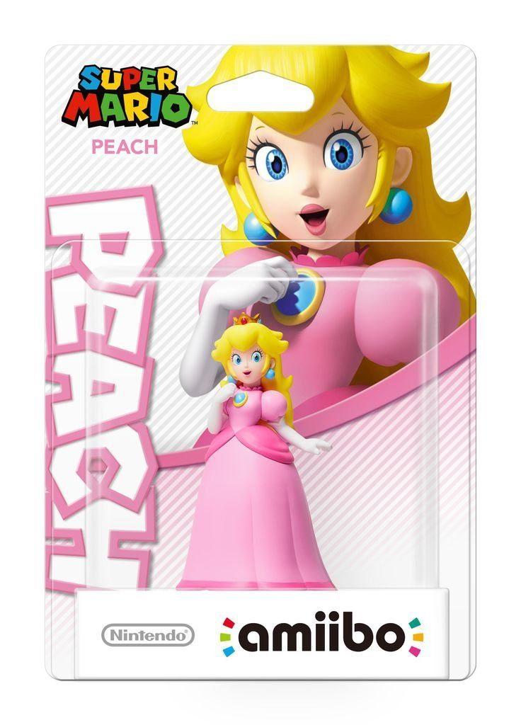 Nintendo Wii U - Spiel »amiibo SuperMario Peach«